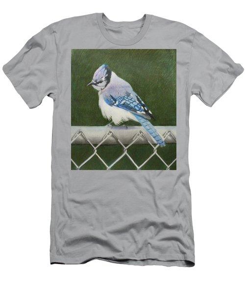 Sherrie's Bluejay Men's T-Shirt (Slim Fit) by Constance DRESCHER