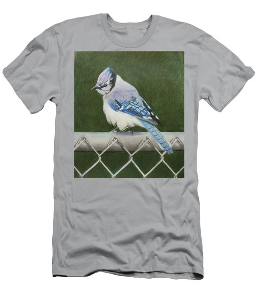 Sherrie's Bluejay Men's T-Shirt (Athletic Fit)