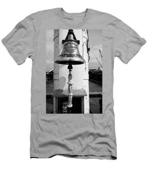 Ships Bell Uss Constitution Men's T-Shirt (Athletic Fit)