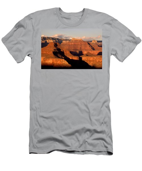 Shiva Temple  At Sunset Grand Canyon National Park Men's T-Shirt (Athletic Fit)