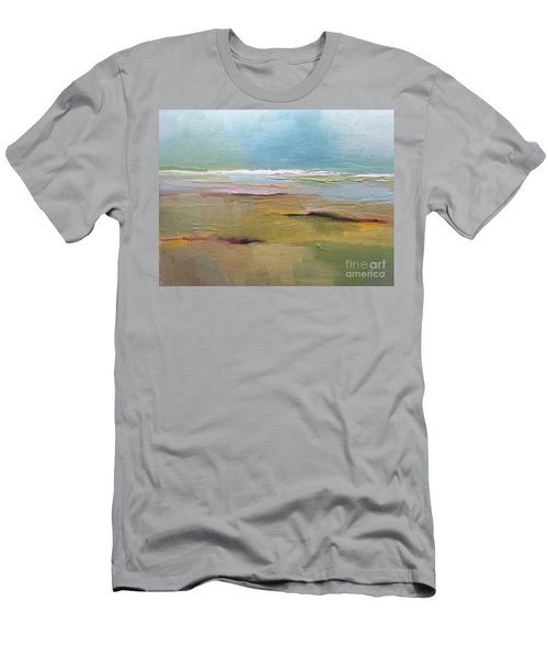 Men's T-Shirt (Athletic Fit) featuring the painting Shoreline by Michelle Abrams