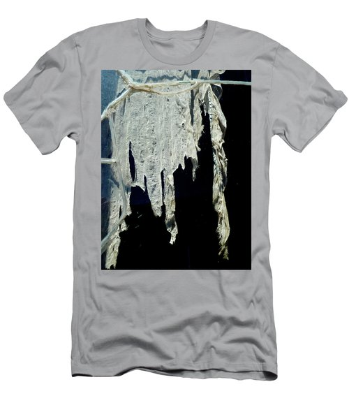 Shredded Curtains Men's T-Shirt (Athletic Fit)