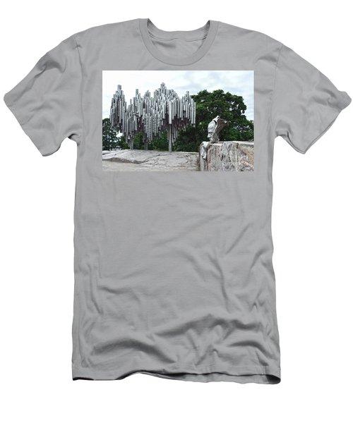 Sibelius Monument Men's T-Shirt (Athletic Fit)