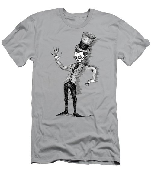 Side Show Performer Men's T-Shirt (Slim Fit) by Akiko Okabe