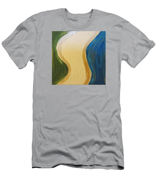 Sierra Leone Coastline - Freetown - Sierra Leone  Men's T-Shirt (Slim Fit) by Mudiama Kammoh