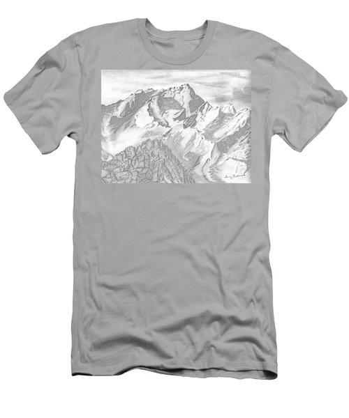 Sierra Mt's Men's T-Shirt (Athletic Fit)