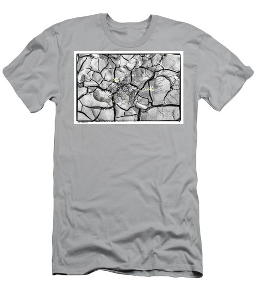 Men's T-Shirt (Slim Fit) featuring the photograph Signs Of Life by Arik Baltinester
