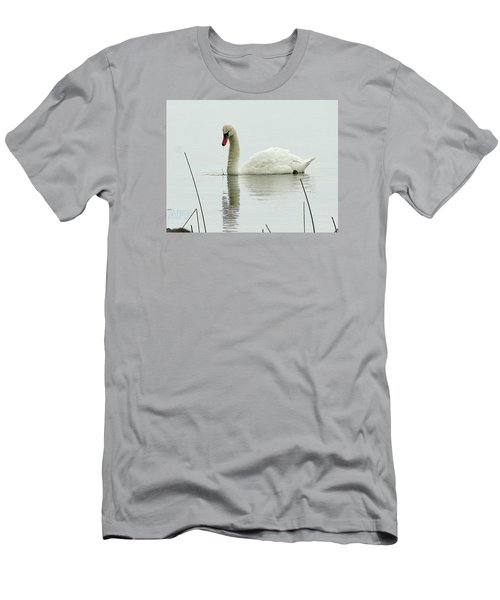 Men's T-Shirt (Slim Fit) featuring the photograph Silent Water by Al Fritz