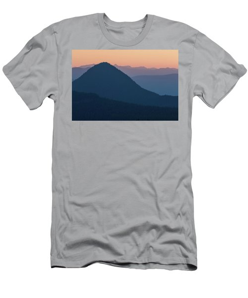 Silhouettes At Sunset, No. 2 Men's T-Shirt (Athletic Fit)