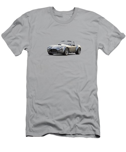 Silver Ac Cobra Men's T-Shirt (Slim Fit) by Douglas Pittman