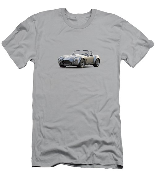 Silver Ac Cobra Men's T-Shirt (Athletic Fit)