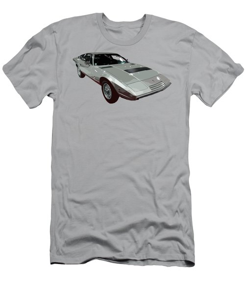 Silver Classic Sport Art Men's T-Shirt (Athletic Fit)