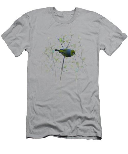 Silvereye Men's T-Shirt (Athletic Fit)