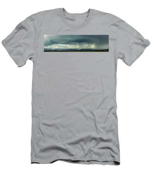 Men's T-Shirt (Athletic Fit) featuring the photograph Single Bolt by Tyson Kinnison