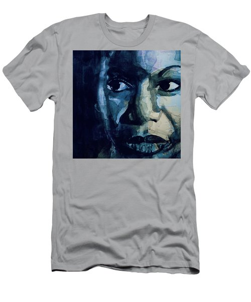 Sinnerman - Nina Simone Men's T-Shirt (Athletic Fit)
