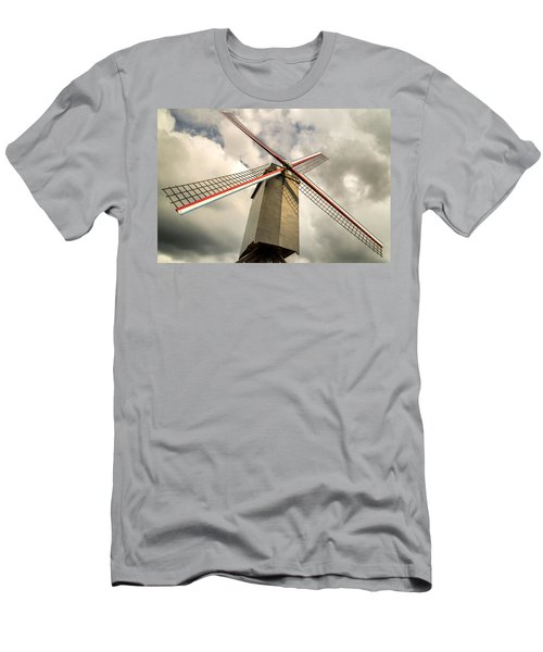 Sint Janshuismolen Windmill 2 Men's T-Shirt (Athletic Fit)