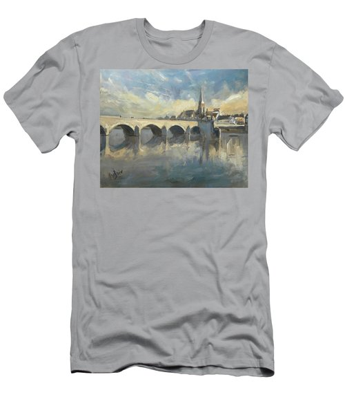 Sint Servaas Bridge Maastricht Men's T-Shirt (Athletic Fit)