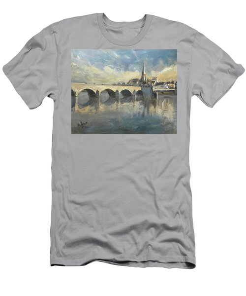 Sint Servaas Bridge Maastricht Men's T-Shirt (Athletic Fit)