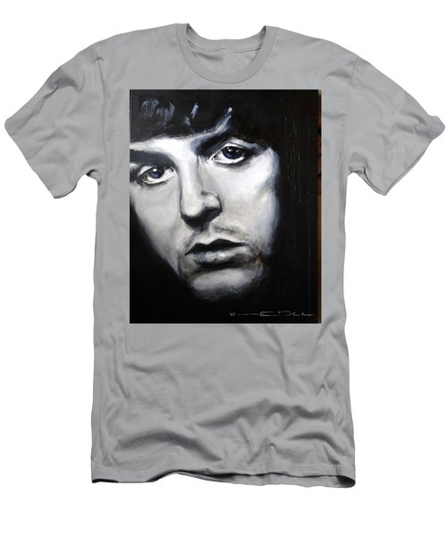 Sir Paul Mccartney Men's T-Shirt (Athletic Fit)