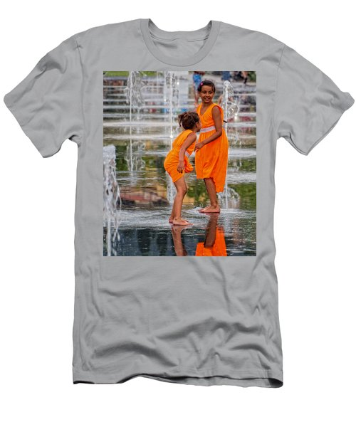 Sisters In The Waterpark Men's T-Shirt (Athletic Fit)