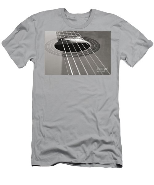 Six Guitar Strings Men's T-Shirt (Athletic Fit)