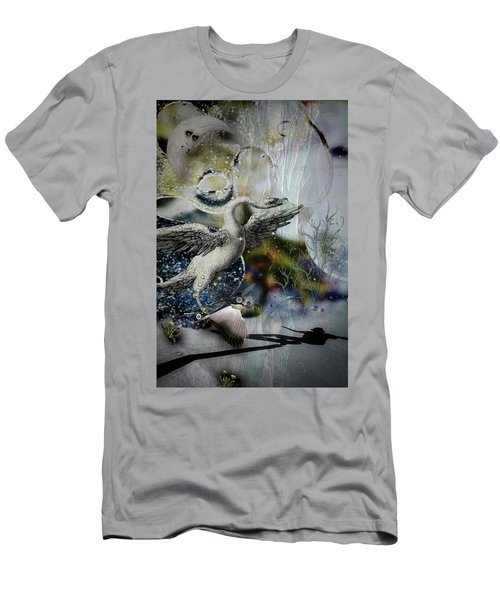 Skateboard Fantasy Men's T-Shirt (Athletic Fit)
