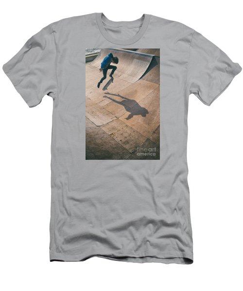 Skater Boy 001 Men's T-Shirt (Athletic Fit)