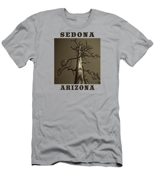Skeletal Tree Sedona Arizona Men's T-Shirt (Athletic Fit)
