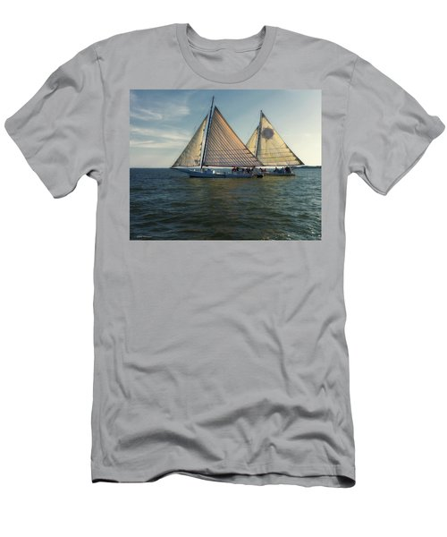 Skipjack Races 3 Men's T-Shirt (Athletic Fit)