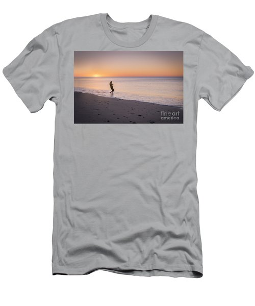 Skipping Stones Men's T-Shirt (Athletic Fit)
