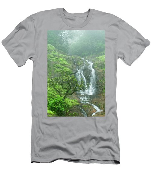 Skn 3758 Admiring Your Beauty Men's T-Shirt (Athletic Fit)