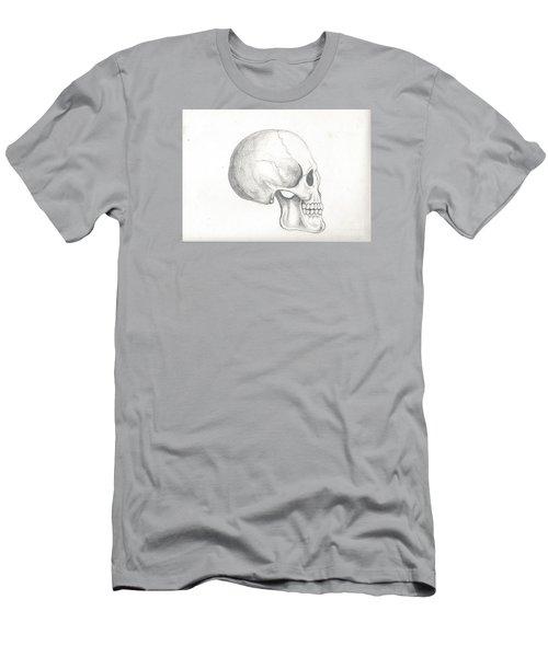Skull Study Men's T-Shirt (Athletic Fit)