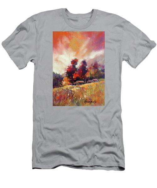 Sky Fall Men's T-Shirt (Slim Fit) by Rae Andrews
