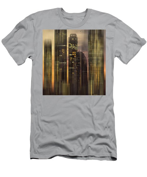 Sky Scrapers Men's T-Shirt (Athletic Fit)
