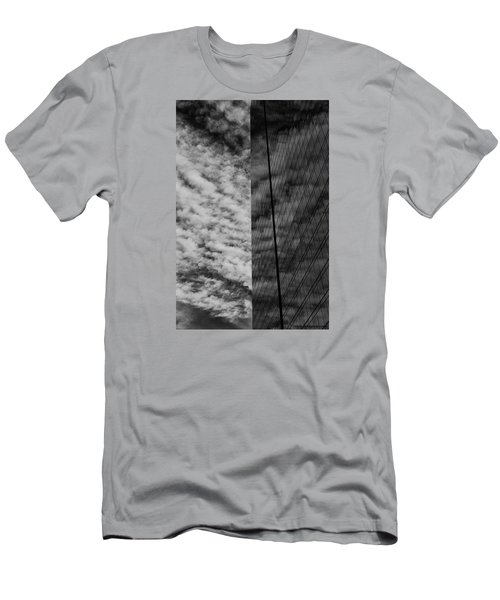 Men's T-Shirt (Slim Fit) featuring the photograph Sky Show by Lora Lee Chapman