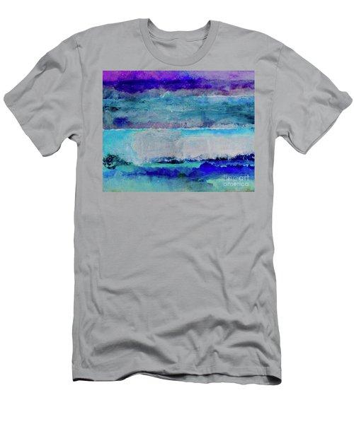 Sky Striations Men's T-Shirt (Athletic Fit)