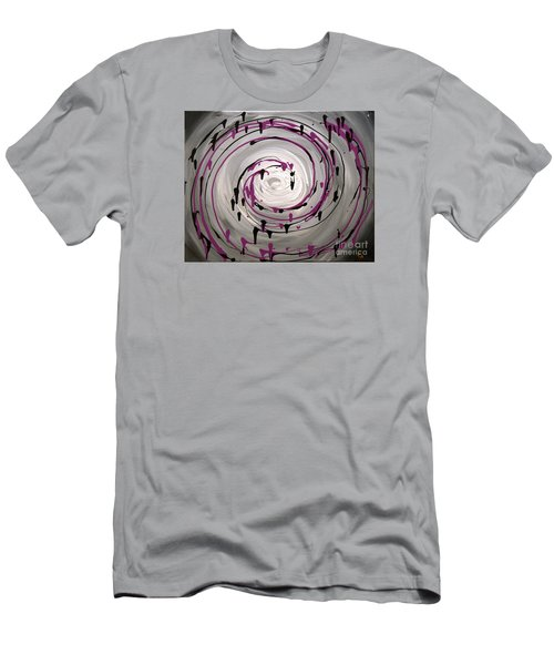 Sky Swirl Men's T-Shirt (Athletic Fit)
