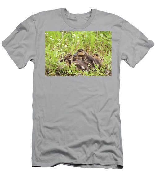 Sleepy Ducklings Men's T-Shirt (Athletic Fit)