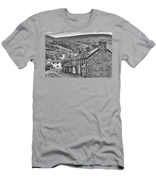Sleepy Welsh Village Men's T-Shirt (Athletic Fit)