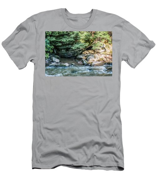 Slippery Rock Gorge - 1895 Men's T-Shirt (Athletic Fit)
