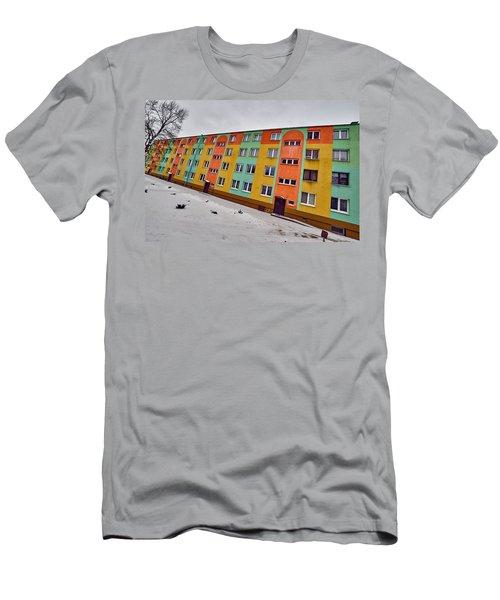 Slope Men's T-Shirt (Slim Fit) by Tgchan