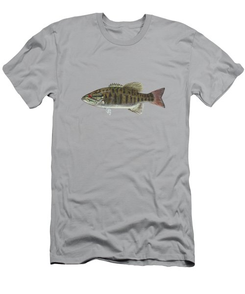 Smallmouth Bass Blue Lagoon  Men's T-Shirt (Athletic Fit)