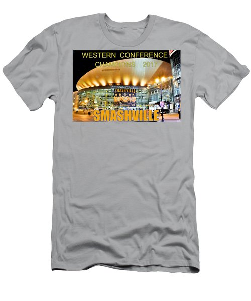 Smashville Western Conference Champions 2017 Men's T-Shirt (Athletic Fit)