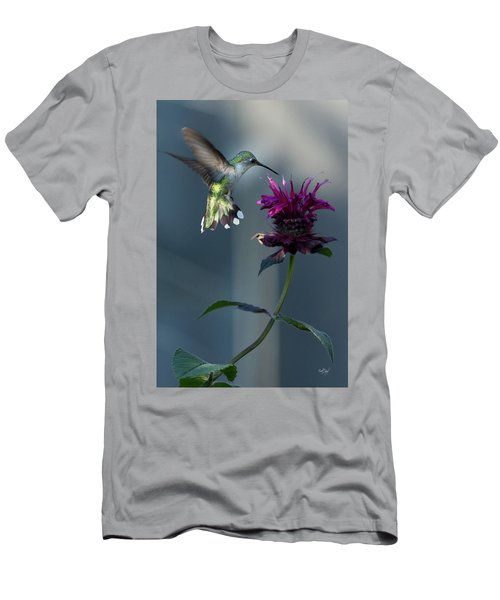 Men's T-Shirt (Slim Fit) featuring the photograph Smiles In The Garden by Everet Regal