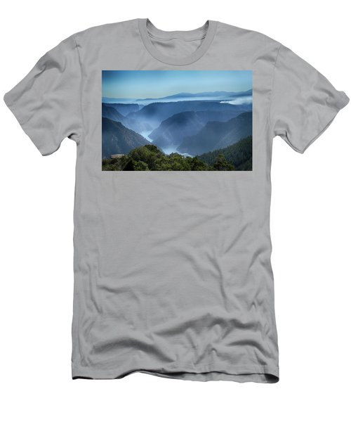 Smoke Over Flaming Gorge Men's T-Shirt (Athletic Fit)