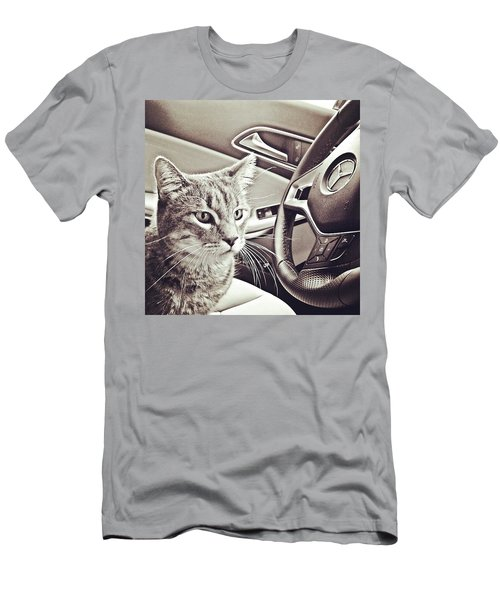 Smokey Loves The Mercedes Cla Too! Men's T-Shirt (Athletic Fit)