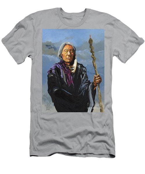 Snake Medicine Men's T-Shirt (Athletic Fit)