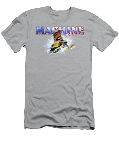 Snow Addiction Men's T-Shirt (Slim Fit)