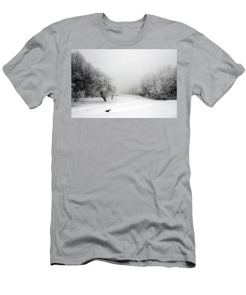 Snow Bound Men's T-Shirt (Athletic Fit)