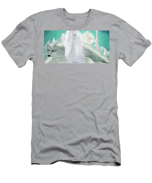 Snow Fairy Men's T-Shirt (Athletic Fit)